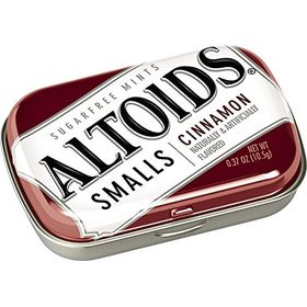 Altoid Small Cinnamon Sugar Free Mint (Pack of 2), 10.5g