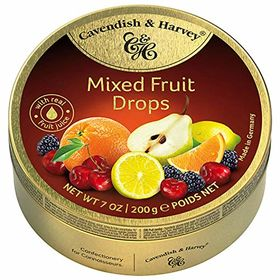 Cavendish & Harvey Mixed Fruit Drops, 200g