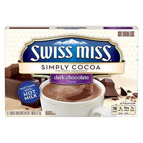Swiss Miss Simply Cocoa Dark Chocolate Mix, 217g