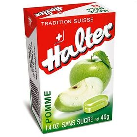 Halter Sugarfree Apple Bonbons, 40g