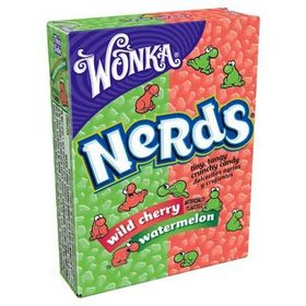 Wonka Nerds Wild Cherry & Watermelon 46.7g (Pack of 2)