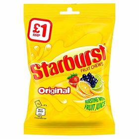 Starburst Original Fruit Chews Candy, 141g
