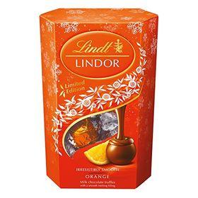 Lindt Limited Edition Lindor Orange Milk Chocolate Truffles (200g)