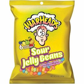 Warheads Sour Jelly Beans, 5 oz (141g)