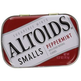 Altoids Small Peppermint Sugar free Mints 10.5 Grams