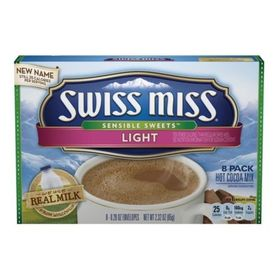 Swiss Miss Light Hot Cocoa Mix, 65g