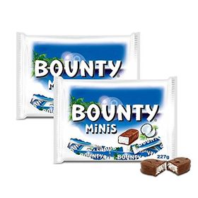 Bounty Chocolate Minis, 227g (Pack of 2)