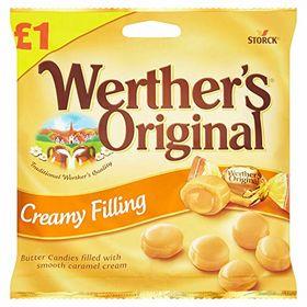 Werther's Original Creamy Filling Candies - 110g