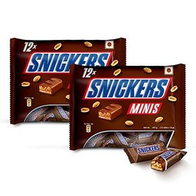 Snickers Chocolate Minis, 227g (Pack of 2)
