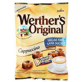 Storck Werther's Original Cappuccino Sugar Free Candy, 70g