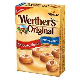 Storck Werther's Sugar Free Caramel Butter Candies Box, 42g