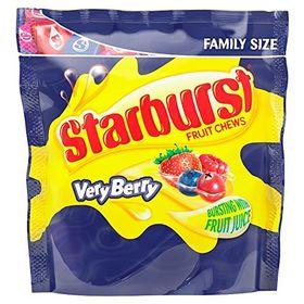 Starburst Very Berry Fruit Chews, 210g