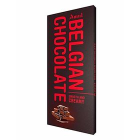 Amul Belgian Smooth N Creamy Chocolate Bars  (150 g)