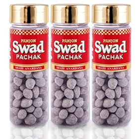 Panjon Swad Pachak Shahi Anardana Goli (Pack of 3), 330 gm