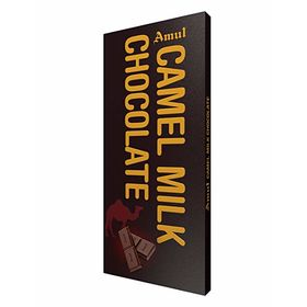 Amul Camel Milk Chocolate Bars  (150 g)