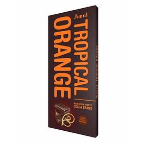 Amul Tropical Orange Chocolate Bars  (150 g)