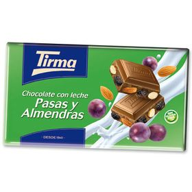 Tirma Made in Spain Almonds & Raisins Chocolate Bars 150g