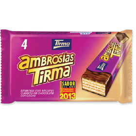 Tirma Made in Spain Ambrosia Wafers Milk 86g