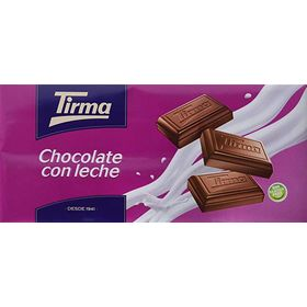 Tirma Made in Spain Milk Chocolate Bars 150g