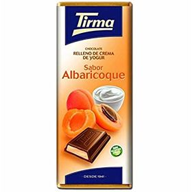 Tirma Made in Spain Cream Filled Chocolate Apricot 95g