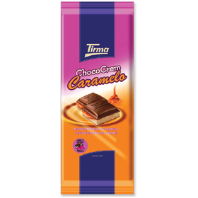 Tirma Made in Spain Cream Filled Chocolate Caramel 133g