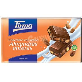 Tirma Made in Spain Whole Almonds Chocolate Bars 150g