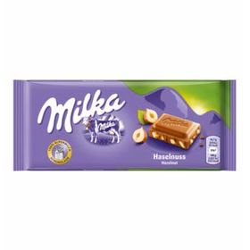 Milka Haselnuss (Hazelnut Chocolate Bar), 100g