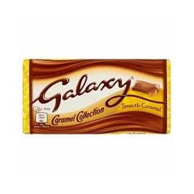 Galaxy Smooth Caramel Collection Milk Chocolate Bar, 135g