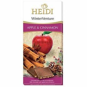 Heidi Winter Venture Apple and Cinnamon Chocolate Bar, 90g