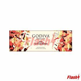 Godiva Dark Chocolate with Almond Chocolate Bar, 300g