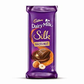 Cadbury Dairy Milk Silk Hazelnut Chocolate Bar Pouch, 6 X 58 g