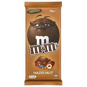 M&M'S Hazelnut Milk Chocolate Block 155g
