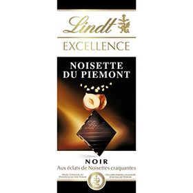Lindt Excellence Imported Chocolate Bar with Gently Roasted Hazelnut Bits. (100g)