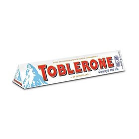 Toblerone Swiss White Chocolate, 100g