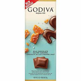 Godiva Milk Chocolate Salted Caramel 90g