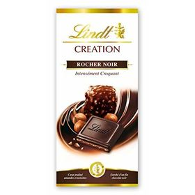 Lindt Creation Rocher Noir intensément croquant 150g