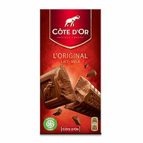 Cote d'Or Lait Melk Chocolate Bar, 200g (Pack of 2)