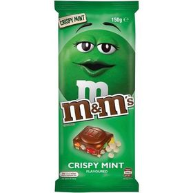 M&M's Chocolate Crispy Mint, 150g