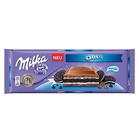 Mondelez International Milka Oreo Milk Chocolate Bar (300g)