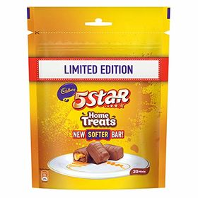 Cadbury 5 Star Chocolate Home Treats, 200g (Pack of 4)
