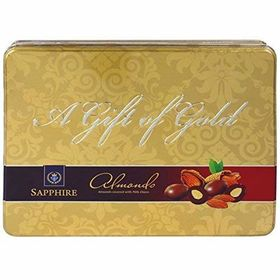 Sapphire Chocolate Coated Nuts Gold, Almond, 350g