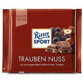Ritter Sport Raisins & Hazelnuts(100gm)
