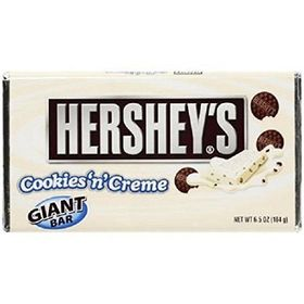 Hershey Crunched Cookies & Cream Milk Chocolate Bar - 184g