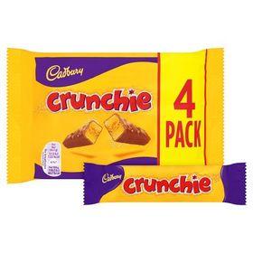 Cadbury Crunchie 4 Chocolate bar 104.4g