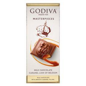 Godiva Masterpiece Caramel Milk Chocolate, 86g