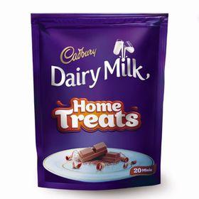 Cadbury Dairy Milk Home Treats, 140g (Pack of 3)
