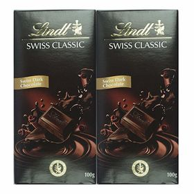 Lindt Swiss Classic Chocolate, Surfin, 2 X 100 g