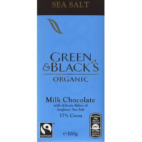 Green & Black organic sea salt 100g
