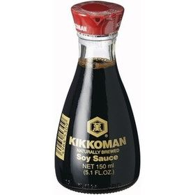 Kikkoman Naturally Brewed Soy Sauce, 150ml
