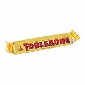 Toblerone Swiss Milk Chocolate With Honey & Almond Nougat, 50g (Pack of 3)